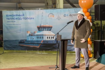 Череповецкий судостроительный завод начинает строительство первых судов