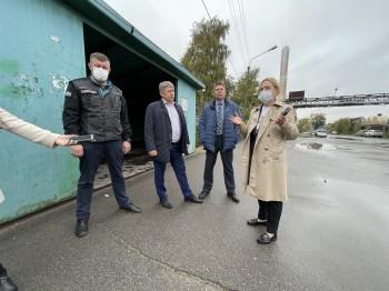 Новый автобусный маршрут начал работать сегодня в Череповце на территории ДОКа