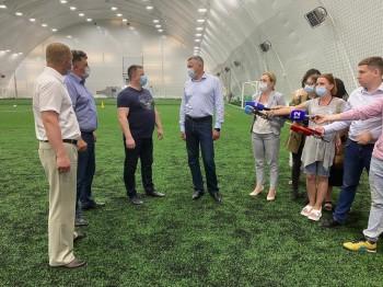 Первый футбольный центр нового поколения построен в Череповце, благодаря государственно-частному партнёрству