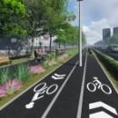 В Череповце началось строительство транспортной инфраструктуры на Набережной реки Шексны в районе Усадьбы Гальских