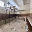 Реконструкция бассейна продолжается в 131 детском саду Череповца